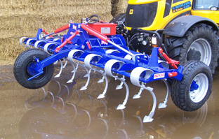 front mounted cultivator
