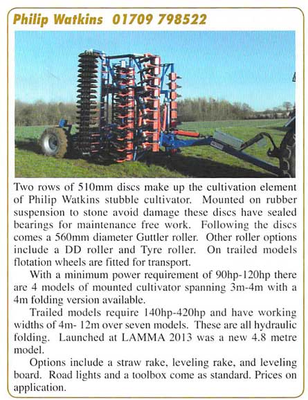 farm contractor magazine, cultivations