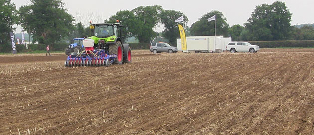 normac cultivations demonstration 2014